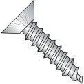 14X3/4  Phil Flat Undercut Self Tapping Screw Type A Fully Threaded 18 8 Stainless, Pkg of 2000