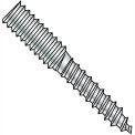 1/4-20X2  Hanger Bolt Full Thread Zinc, Pkg of 1000