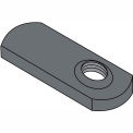 1/4-20  Spot Weld Offset Hole Tab Weld Nut Plain, Pkg of 1000
