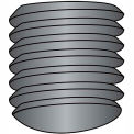 1/4-28X1/4  Fine Thread Socket Set Screw Oval Point  Plain Imported, Pkg of 50
