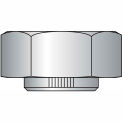 2-4.5  Stover Equivalent Hex Collar Lock Nut Grade C Cad And Wax, Pkg of 5