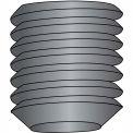 5/16-18X1/2  Coarse Thread Socket Set Screw Flat Point Plain, Pkg of 100