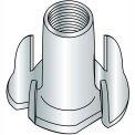 3/8-16X7/16  4 Prong Tee Nut Zinc, Pkg of 500