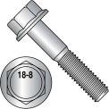 Hex Head Flange Frame Bolt - 3/8-16 x 3/4 - 18-8 Stainless Steel - Pkg of 500