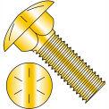 3/8-16X4  Carriage Bolt Grade 8 Fully Threaded Zinc Yellow, Pkg of 275