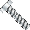 1/2-13X4  Hex Tap Bolt A307 Fully Threaded Zinc, Pkg of 100