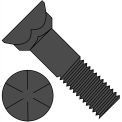 5/8-11X2  Grade 8 Plow Bolt With Number 3 Head Plain, Pkg of 250