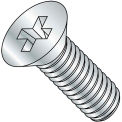 M3-0.5X5  Din 965 Metric Phillips Flat Machine Screw Zinc, Pkg of 5000