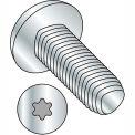 M5X16  Din 7500 C E Pan 6 Lobe Recess Thread Rolling Screw Zinc Bake And Wax, Pkg of 500