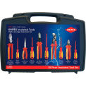 KNIPEX® 9K 98 98 31 US 10 Pc Pliers / Screwdriver Insulated Tool Set 1,000V, Hard Case