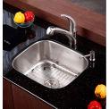 "Kraus KBU11 20"" Undermount Single Bowl 16 Ga. Stainless Steel Kitchen Sink"