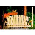 Lakeland Mills 5 Ft Porch Swing - Unfinished/Natural