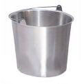 Lakeside® Heavy Duty 13-Quart Stainless Steel Kick Bucket