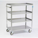 Lakeside® Stainless Steel Linen Service Cart, 300 Lb Capacity