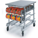 Lakeside® 336-Poly Top Work Height Can Rack, 54(#10 Cans), 72(#5 Cans)