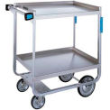 Lakeside HD Stainless Steel 2 Shelf Cart 32-5/8 x 19-3/8 x 35-1/2 700 Lb Cap