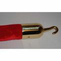 Tensator Polished Brass Hook Rope End
