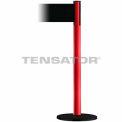 Wide Webbing Tensabarrier Black Belt - Red