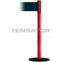 Wide Webbing Tensabarrier Dark Green Belt - Red