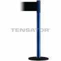 Wide Webbing Tensabarrier Black Belt - Blue