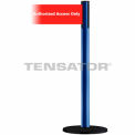 "Wide Webbing Tensabarrier Red Belt ""Authorized Access Only"" - Blue"