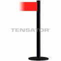 Wide Webbing Tensabarrier Red Belt - Black