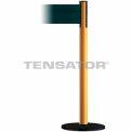 Wide Webbing Tensabarrier Dark Green Belt - Yellow
