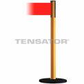 Wide Webbing Tensabarrier Red Belt - Yellow