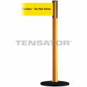 """Wide Webbing Tensabarrier Yellow Belt """"Caution Do Not Enter"""" - Yellow"""