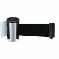Wall Mount Unit Satin Chrome - 13' Black Belt