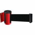 Wall Mount Unit Red - 7.5' Black Belt