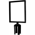 Standard Sign Frame 8-1/2 x 11 - Black