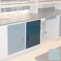 "Lab Base Cabinet 24""W x 22-1/2""D x 35-3/4""H, 1 Drawer, 1 Cupboard Door, W/1 Adj Shelf, Model Gray"