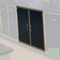 "Lab Base Cabinet 47""W x 22-1/2""D x 35-3/4""H, 2 Cupboard Doors W/1 Shelf, Stone Gray"