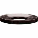 32 Gallon Concave Metal Lid - Black