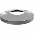 32 Gallon Convex Metal Lid - Gray