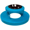 32 Gallon Ash Bonnet Lid With Ashtray - Blue