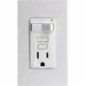 Leviton 7299-NW 15A SmartLockPRO Combo Switch GFCI Recpt, Indicator Light, White