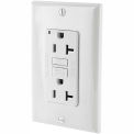Leviton GFNT2-W 20A SmartlockPro Self-Test GFCI Duplex Recpt, Ind Light, Wire Leads, White
