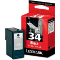 Lexmark™ 34XL High Yield Ink Cartridge 18C0034, Black