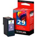 Lexmark™ 29 Ink Cartridge 18C1429, Color
