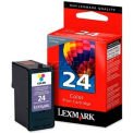 Lexmark™ 24 Ink Cartridge 18C1524, Color