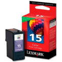 Lexmark™ 15 Ink Cartridge 18C2110, Color