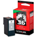 Lexmark™ 36 Ink Cartridge 18C2130, Black