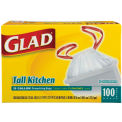 Glad® 13-Gal. Tall Kitchen Bags - 100 Ct.