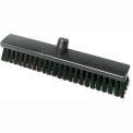 "LPD Trade ESD Conductive Broom Stiff Bristle Brush, Base only, 15-3/4"", Black - C25165"