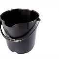 LPD Trade ESD Conductive 4 Gallon Bucket with Handle, Black - C80101