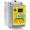 Leeson AC Controls Vector Series Drive Sub-Micro VFD,IP20,3 PH,2HP,208-240V