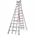 Little Giant Aluminum SkyScraper Telescoping Step Ladder, 21' Type 1A - 10121