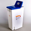 Covidien PharmaSafety™ Sharps Disposal Container, Hinged Lid, 18 Gallon, Case of 5
